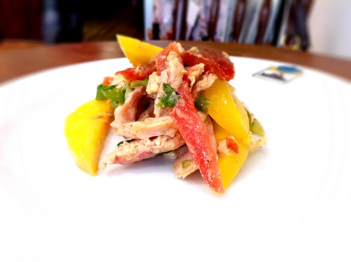 Smoked Chicken & Mango Salad