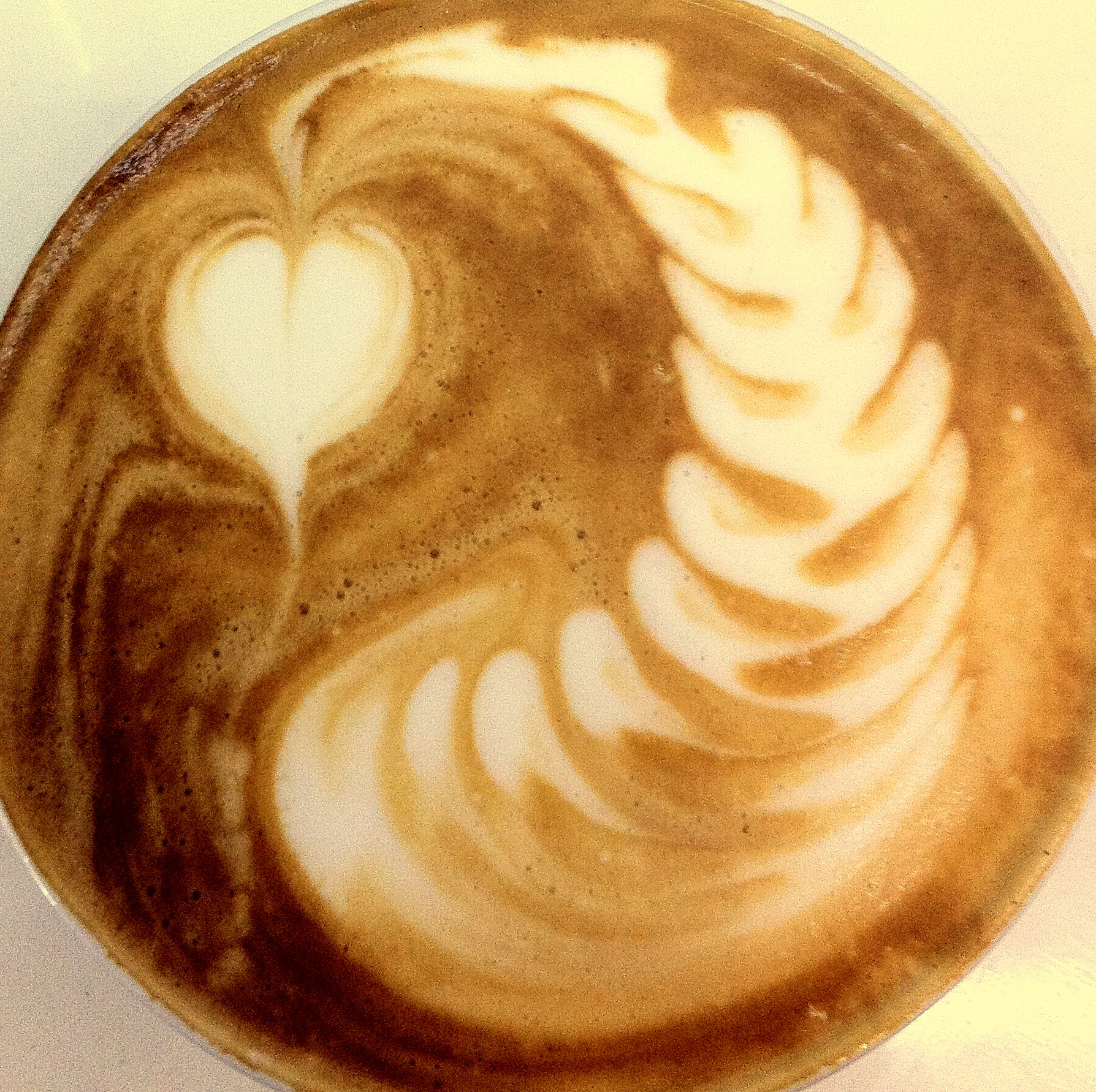 Great latte